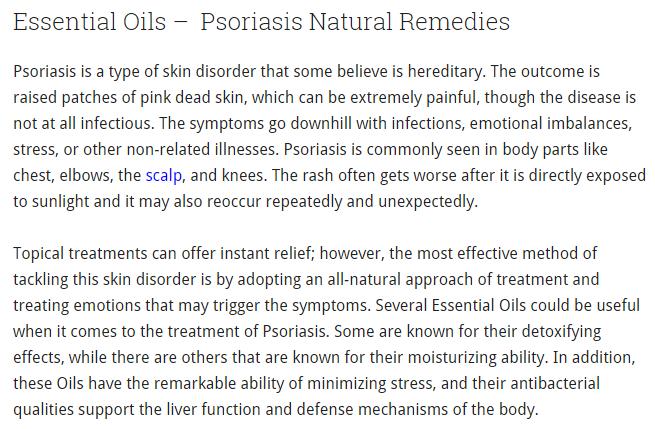 Esential oils