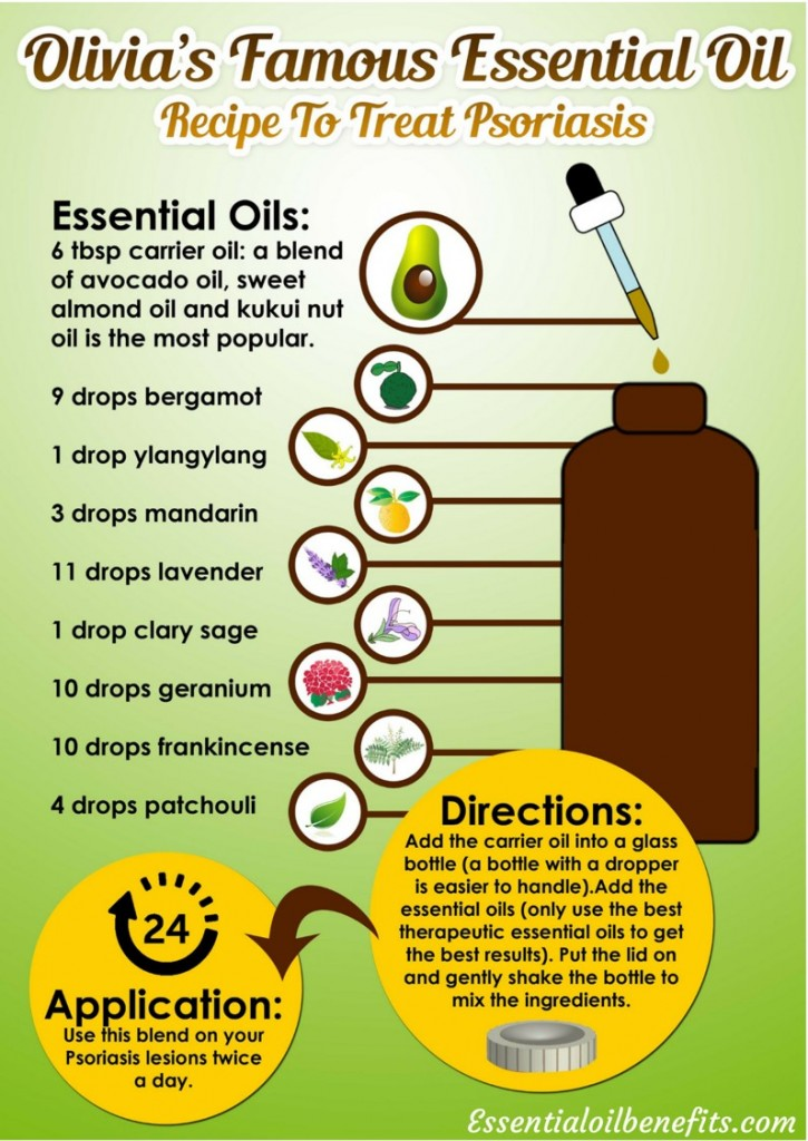 22 Essential Oil Remedies to Treat Psoriasis